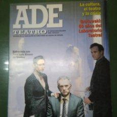 Coleccionismo de Revistas y Periódicos: ADE TEATRO, Nº 128 NOVIEMBRE -DICIEMBRE 2009, REVISTA ASOCIACIÓN DE DIRECTORES DE ESCENA DE ESPAÑA. Lote 195071497