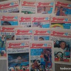 Coleccionismo de Revistas y Periódicos: SPORT, BARCELONA 92 ,LOTE 15 . Lote 195075711