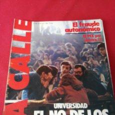 Coleccionismo de Revistas y Periódicos: REVISTA LA CALLE N.96 AÑO 1980. Lote 195082155