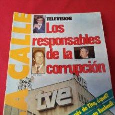 Coleccionismo de Revistas y Periódicos: REVISTA LA CALLE N.96 AÑO 1980. Lote 195082375
