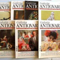 Coleccionismo de Revistas y Periódicos: LOTE DE 7 REVISTAS GALERÍA ANTIQUARIA. AÑOS 1996 Y 1997. Lote 195087385