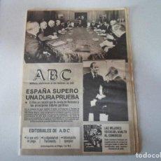 Coleccionismo de Revistas y Periódicos: ABC GOLPE DE ESTADO 1981 . Lote 195087557