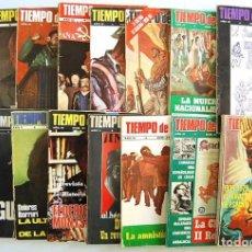 Coleccionismo de Revistas y Periódicos: LOTE DE 16 REVISTAS TIEMPO DE HISTORIA. AÑOS 1996 Y 1997. Lote 195089891