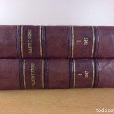 Coleccionismo de Revistas y Periódicos: BLANCO Y NEGRO 1917 / 2 TOMOS. Lote 195094193