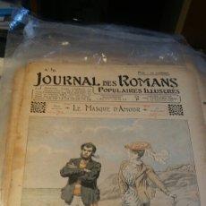 Coleccionismo de Revistas y Periódicos: LE MASQUE D'AMOUR - Nº 59 - JOURNAL DES ROMANS POPULAIRES ILLUSTRÉS - 1903. Lote 195100507