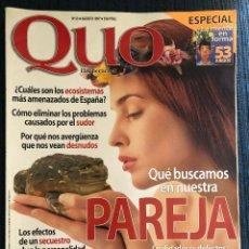 Coleccionismo de Revistas y Periódicos: REVISTA 'QUO', Nº 23. AGOSTO 1997. PAREJA. 140 PÁGINAS. BUEN ESTADO.. Lote 195105736