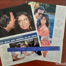 Coleccionismo de Revistas y Periódicos: JULIO IGLESIAS QUISO SUICIDARSE CON UNA PISTOLA - - RECORTE 3 PAG.- REVISTA SEMANA 1988 . Lote 195109626