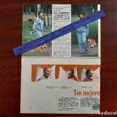 Coleccionismo de Revistas y Periódicos: AVA GARNER RECUPERADA DE SU ENFERMEDAD - - RECORTE 1 PAG.- REVISTA SEMANA 1988. Lote 195110133
