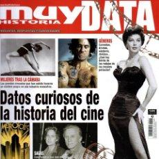 Coleccionismo de Revistas y Periódicos: MUY HISTORIA DATA N. 17 - EN PORTADA: DATOS CURIOSOS DE LA HISTORIA DEL CINE (NUEVA). Lote 195114592