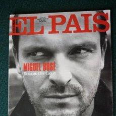 Coleccionismo de Revistas y Periódicos: EL PAIS SEMANAL - MIGUEL BOSE - Nº 243.-1995. Lote 195119718