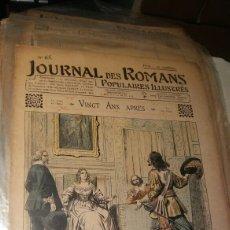 Coleccionismo de Revistas y Periódicos: VINGT ANS APRES - JOURNAL DES ROMANS POPULAIRES ILLUSTRÉS N°65 - 1903/1904. Lote 195133438