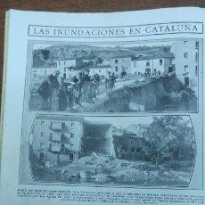 Coleccionismo de Revistas y Periódicos: PONT DE MOLINS SAN VICENTS DELS HORTS ARBUCIAS EL VENDRELL M.POINCARE VISITA MADRID HENDAYA AÑO1913. Lote 195136958