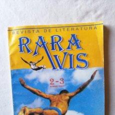 Coleccionismo de Revistas y Periódicos: ANTIGUA REVISTA DE LITERATURA RARA AVIS NUMERO DOBLE 2 - 3 SEVILLA 1987 LITERARIA . Lote 195144670