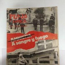 Coleccionismo de Revistas y Periódicos: PUNTO Y HORA 1977 / AMNISTIA A SANGRE Y FUEGO . Lote 195148652