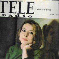 Coleccionismo de Revistas y Periódicos: REVISTA TELE RADIO Nº 379, 29 MARZO - 4 ABRIL 1965, ELISA RAMIREZ, FRANCE GALL EN PAGINAS INTERIORES. Lote 195152537