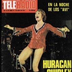 Coleccionismo de Revistas y Periódicos: REVISTA TELE RADIO Nº 1009, 25 ABRIL - 1 MAYO 1977, SHIRLEY MAC LAINE. Lote 195153141