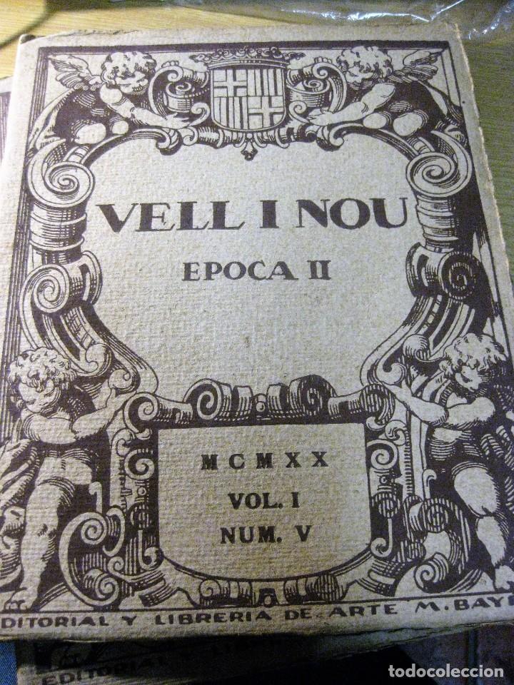 REVISTA DE ARTE VELL I NOU EPOCA II 1920 VOL I Nº V ED BAYES . GERMANS LLIMONA ART (Coleccionismo - Revistas y Periódicos Antiguos (hasta 1.939))