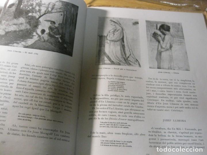 Coleccionismo de Revistas y Periódicos: revista de arte vell i nou epoca II 1920 Vol I nº V ed bayes . germans llimona art - Foto 5 - 195153227