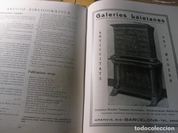 Coleccionismo de Revistas y Periódicos: revista de arte vell i nou epoca II 1920 Vol I nº V ed bayes . germans llimona art - Foto 7 - 195153227