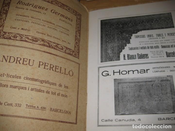 Coleccionismo de Revistas y Periódicos: revista de arte vell i nou epoca II 1920 Vol I nº V ed bayes . germans llimona art - Foto 9 - 195153227