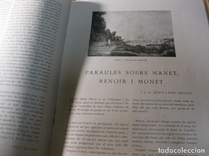 Coleccionismo de Revistas y Periódicos: revista de arte vell i nou epoca II 1920 Vol I nº V ed bayes . germans llimona art - Foto 10 - 195153227