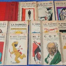 Coleccionismo de Revistas y Periódicos: LOTE DE 13 TÍTULOS DE REVISTA LITERARIA - NOVELAS Y CUENTOS. Lote 195154843