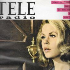 Coleccionismo de Revistas y Periódicos: REVISTA TELE RADIO Nº 480,6-12 MARZO 1967, ELIZABETH MONTGOMERY, JACQUES DUTRONC ,PAGINAS INTERIORES. Lote 195159435