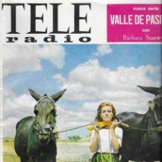 Coleccionismo de Revistas y Periódicos: REVISTA TELE RADIO Nº 478, 20-26 FEBRERO 1967, MARIA MAHOR, VALLE DE PASIONES,J.L. TRINTIGNANT. Lote 195160767