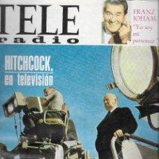 Coleccionismo de Revistas y Periódicos: REVISTA TELE RADIO Nº 479, 27 FEBRERO- 5 MARZO 1967,HITCHCOCK, GOMEZ BUR, ENCARNITA POLO. Lote 195161041