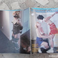 Coleccionismo de Revistas y Periódicos: REVISTA DE SADO U.S.A, BONDAGE PARADE Nº 10, REVISTA EROTICA ,SOLO PARA ADULTOS . Lote 195166462