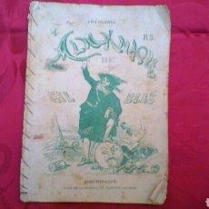 Coleccionismo de Revistas y Periódicos: ALMANAQUE DE GIL BLAS. Lote 195169235
