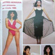 Coleccionismo de Revistas y Periódicos: RECORTE REVISTA SEMANA Nº 2345 1985 ASTRID HERRERA. MISS MUNDO 1984. Lote 195171702