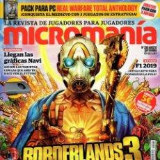 Coleccionismo de Revistas y Periódicos: MICROMANIA N. 290 - EN PORTADA: BORDERLANDS 3 (NUEVA). Lote 195172615