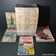 Coleccionismo de Revistas y Periódicos: LOTE DE 65 EJEMPLARES MECÁNICA POPULAR REVISTA ESCRITA PARA QUE UD. LA ENTIENDA AÑOS 50 60. Lote 195185357