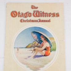 Coleccionismo de Revistas y Periódicos: THE OTAGO WITNESS, CHRISTMAS ANNUAL, 1928, DUNEDIN, NEW ZEALAND. 47,5X33CM. Lote 195186090