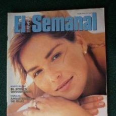 Coleccionismo de Revistas y Periódicos: SUPLEMENTO EL SEMANAL / SHARON STONE, DULCE Y PELIGROSA / Nº 399 - 1995. Lote 195187088