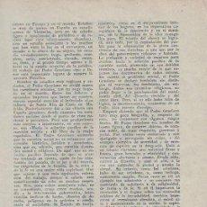 Coleccionismo de Revistas y Periódicos: MIERES – SAMA DE LANGREO. ALCOHOLERA AND.., SIDRA JOSE MENCIA EL POLESU. PUBLICIDAD. ASTURIAS. 1931. Lote 195192292