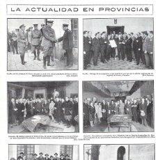 Coleccionismo de Revistas y Periódicos: 1928 HOJA REVISTA ALICANTE TORREVIEJA OBISPO BENDICE BANDERA DE SOMATÉN MADRINA CARMEN RUIZ DE LORCA. Lote 195210158