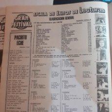 Coleccionismo de Revistas y Periódicos: ESCALA DE EXITOS ABBA BONEY M GREASE JOHN TRAVOLTA OLIVIA NEWTON JOHN. Lote 195211167
