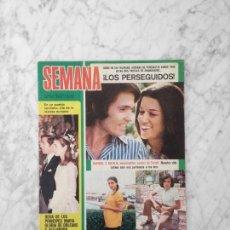 Coleccionismo de Revistas y Periódicos: SEMANA - 1972 RAPHAEL, VICTOR MANUEL Y ANA BELEN, CAMILO SESTO, LAS HERMANAS KESSLER, PERLA CRISTAL. Lote 195213650