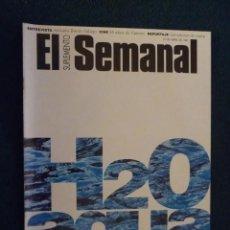 Coleccionismo de Revistas y Periódicos: SUPLEMENTO EL SEMANAL / H2O AGUA / Nº 496 - 1997. Lote 195218983