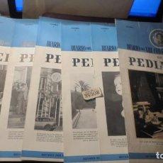 Coleccionismo de Revistas y Periódicos: MEDICINA - DIARIO DEL VIII CONGRESO NACIONAL DE PEDIATRIA BARCELONA 19 OCT.24 OCT. Nº 1-2-3-4-5-6. Lote 195221197