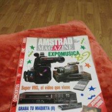 Coleccionismo de Revistas y Periódicos: REVISTAS AMSTRAD MAGAZINE. Lote 195227597