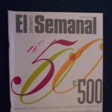 Coleccionismo de Revistas y Periódicos: SUPLEMENTO EL SEMANAL / Nº 500 - 1997. Lote 195229188