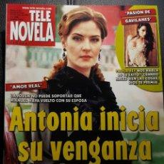 Coleccionismo de Revistas y Periódicos: TELENOVELA - NUMERO 634 - 2005 - AMOR REAL - PAOLA REY - KIKA EDGAR - MACHOS - NO CORREOS. Lote 195236353