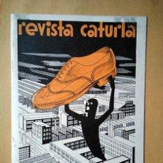 Coleccionismo de Revistas y Periódicos: REVISTA CATURLA, Nº 9, JUNIO-JULIO 1932. INDUSTRIAS CATURLA, VILLENA. Lote 195238910