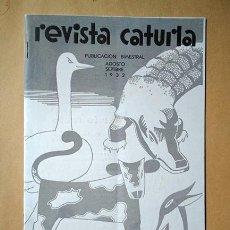 Coleccionismo de Revistas y Periódicos: REVISTA CATURLA, Nº 10, AGOSTO-SEPTIEMBRE 1932. INDUSTRIAS CATURLA, VILLENA. Lote 195238942
