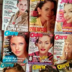 Coleccionismo de Revistas y Periódicos: LOTE DE 16 REVISTAS DE CLARA, SUPLEMENTO MENSUAL DE LECTURAS, AÑOS 1992, 1993, 1994, 1995, 1999. Lote 195239698