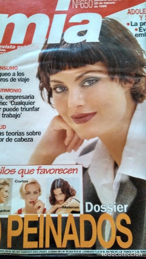 Coleccionismo de Revistas y Periódicos: REVISTA MÍA 650 AÑO 1999 - Foto 2 - 195240092