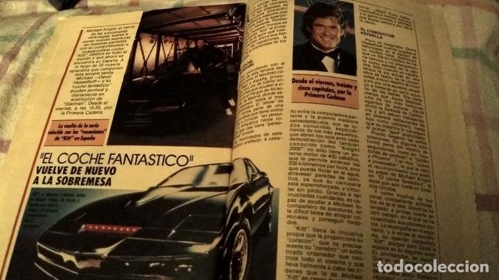 Coleccionismo de Revistas y Periódicos: REVISTA ANTENA TV PORTADA Knight Rider TV show David SELHOFFD COCHE FANTÁSTICO Y REPORTAJE AÑO 1987 - Foto 2 - 195240756